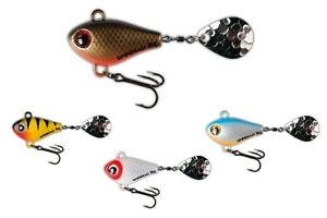 Spinmad Big Spinning Tail 15mm 4g Spinnerbait Perch Trout Chub  COLOURS