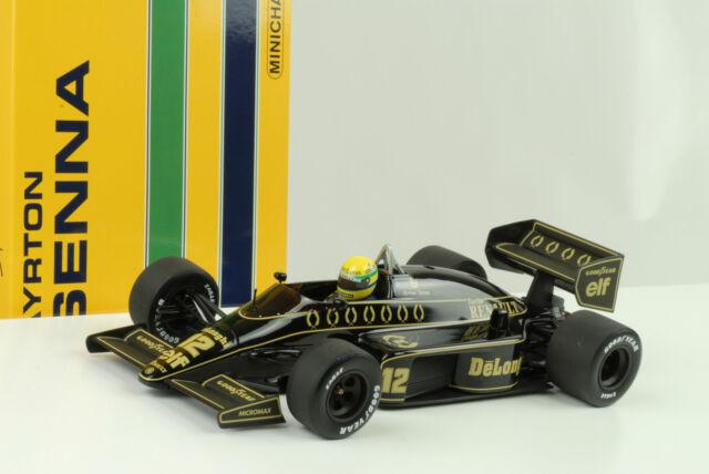 1986 Lotus Renault 98T Ayrton Senna 1:18 Minichamps 540861812 Diecast