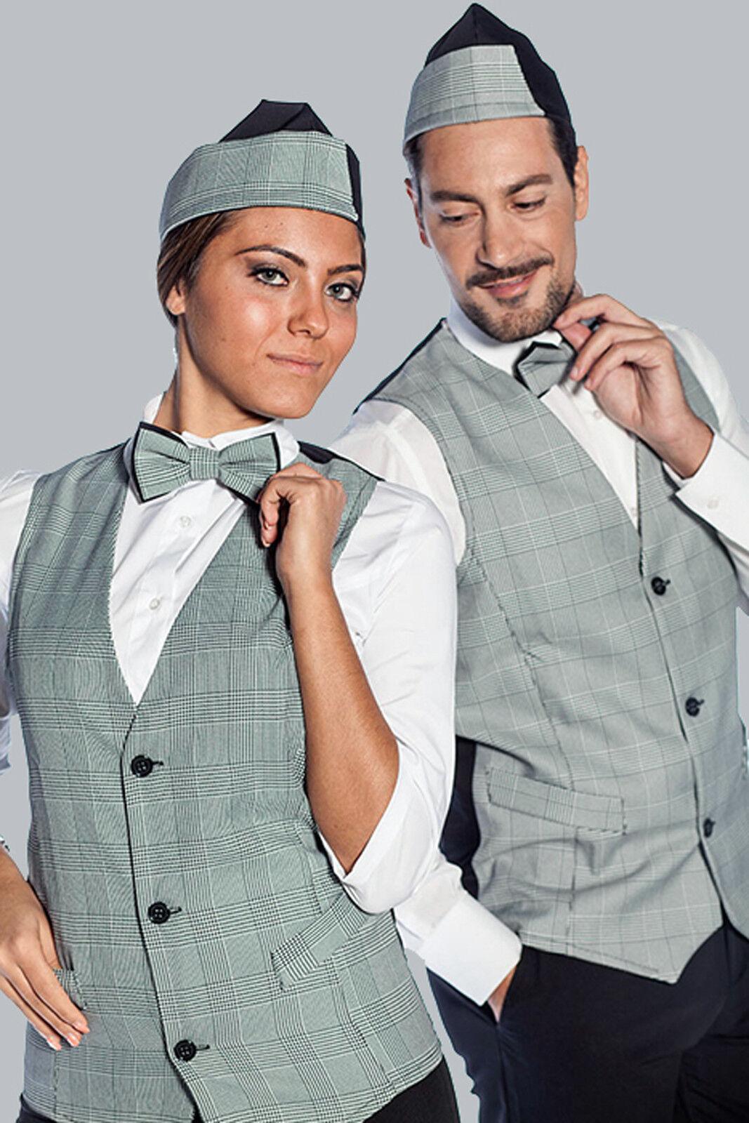 Waistcoat Vest Man Frau Work Business Elegant Bar Waiter Restaurant