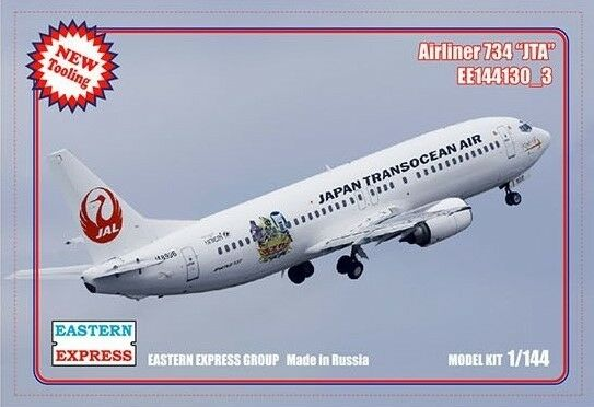 EASTERN EXPRES 144130 -3 CIVIL AIRLINER B -737 -400 JTA AIRLINES 1  144 NY