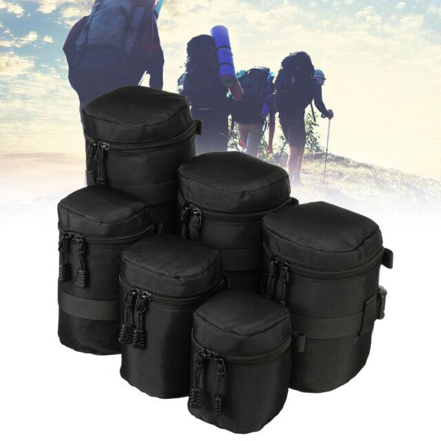 Black Lowepro 9 x 13cm Lens Case