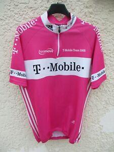 Maillot-cycliste-T-MOBILE-TEAM-2005-ADIDAS-vintage-trikot-jersey-shirt-ZABEL-4-L