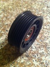 """76mm 3"""" d 6 rib VORTECH POWERDYNE Supercharger Ribbed IDLER Serpentine Pulley"""