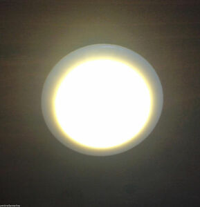 MARINE BOAT & RV SMALL MINI ROUND LED COURTESY LIGHT 12V DC