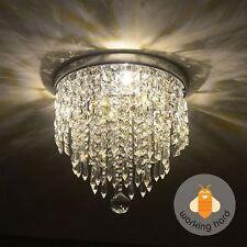 Elegant Designs FM1000CHR 13 inch Mount Ceiling Light