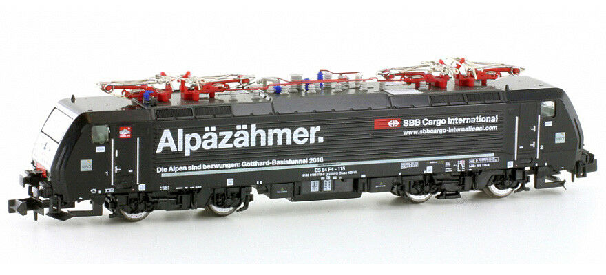 Hobbytrain h2923 pista n ellok serie 189  alpäzähmer  el MRCE SBB Cargo, ep6