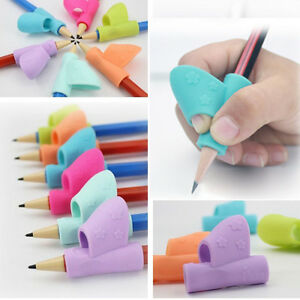 School & Educational Supplies Stationery Set 4pcs Children Pencil Holder Pen Writing Aid Grip School Supplies Pencil Posture Correction Device Free Shipping High Safety