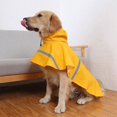 AU Waterproof Dog Raincoat Dog Vest Coat Jacket Reflective Clothes Size M - XXL