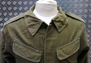 Genuine-Vintage-Military-Combat-Jacket-1980-s-Distressed-Look-Unique-Look-80-s