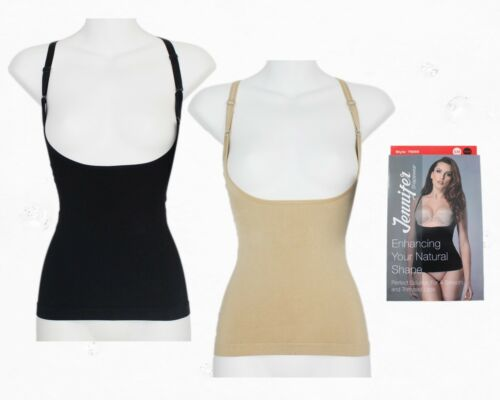 Jennifer 76009 Multi-Way UnderBust Slimming Seamless Camisole Briefer Shapewear
