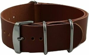 Watch-Leather-Nato-Strap-Brown-22mm