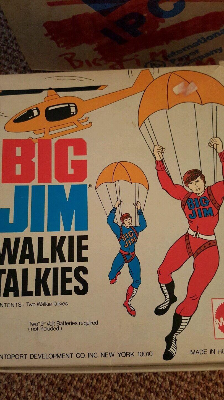 Big jim walkie - talkies 1973 mattel hongkong jahrgang