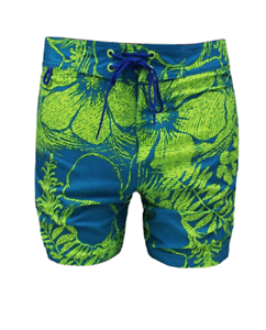 371c5a2d84 $295 SUNDEK MEN BLUE WHITE FLORAL SWIMWEAR SURF SWIM TRUNKS BOARD ...