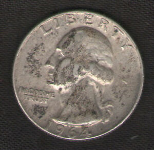 Silver-Quarter-for-Sale-1964-D-with-FREE-and-Fast-Delivery