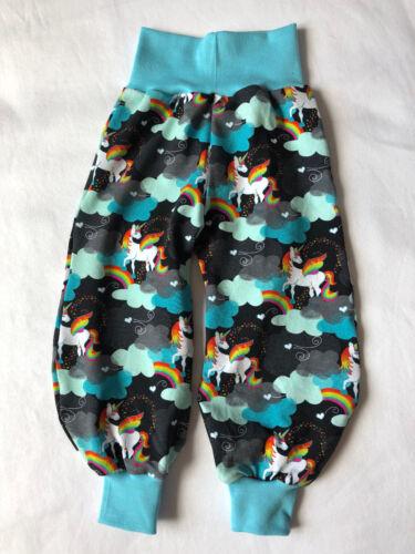 licornes Pantalon bouffant neuf t 56-140 dawanda handmade pièce unique