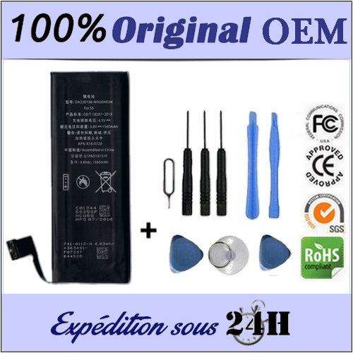 NEW OEM BATTERY FOR IPHONE 5S 5C - SUPERIOR QUALITY CELLS / + TOOLS