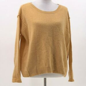 calypso-st-barth-cashmere-sweater-gold-sz-S-Small