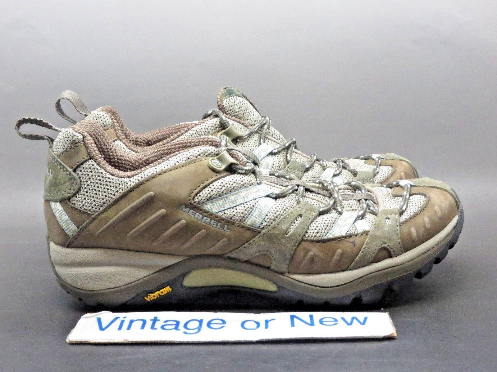 Women's Merrell Siren Sport 2 Olive Hiking Trail shoes sz 7.5