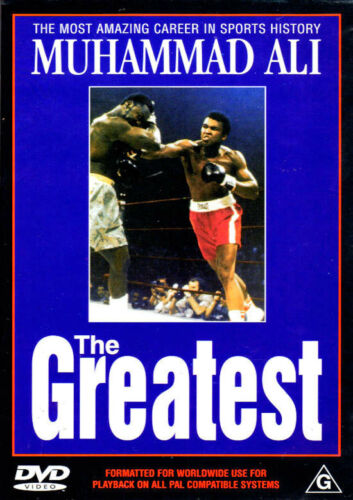 1 of 1 - Muhammad Ali 'The Greatest' The Most Amazing Career in Sports History - DVD