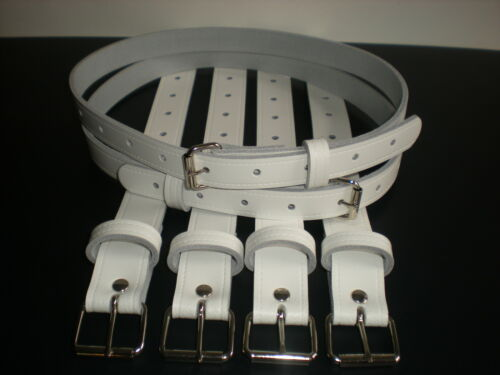 Coach built vintage pram real leather suspension straps in navy blue