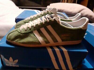 Escrupuloso talento chupar  Adidas Gazelle Og Uk 9 Rare Trainers green 80s casuals oasis 2009 celtic  hibs | eBay