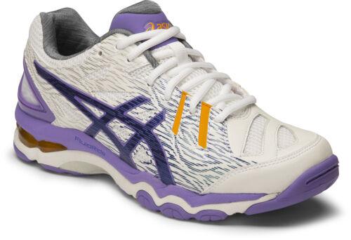 0143 Asics Gel Netburner Super 6 Womens Netball Shoe SAVE $$$ B