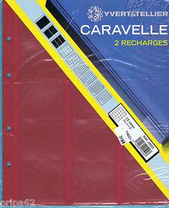 2-RECHARGES-CARAVELLE-Monnaie-2502-15-cases-de-46mm