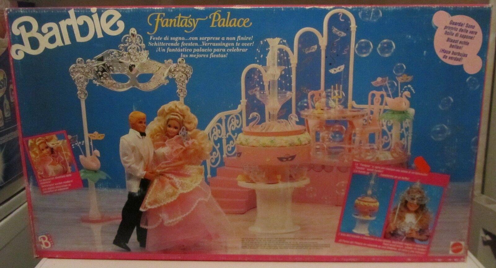 Barbie Barbie Barbie Fantasy Palace Mattel Fondo Di Magazzino SPESE GRATIS 142abc