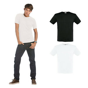 B-amp-C-Collection-Men-039-s-Fit-Short-Sleeve-T-Shirt-TM220-Plain-Fitted-Cotton-Tee-Top