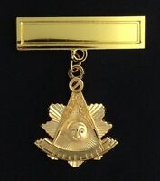 Masonic Past Master's Pendant With Engraving Bar (pm2-pb)