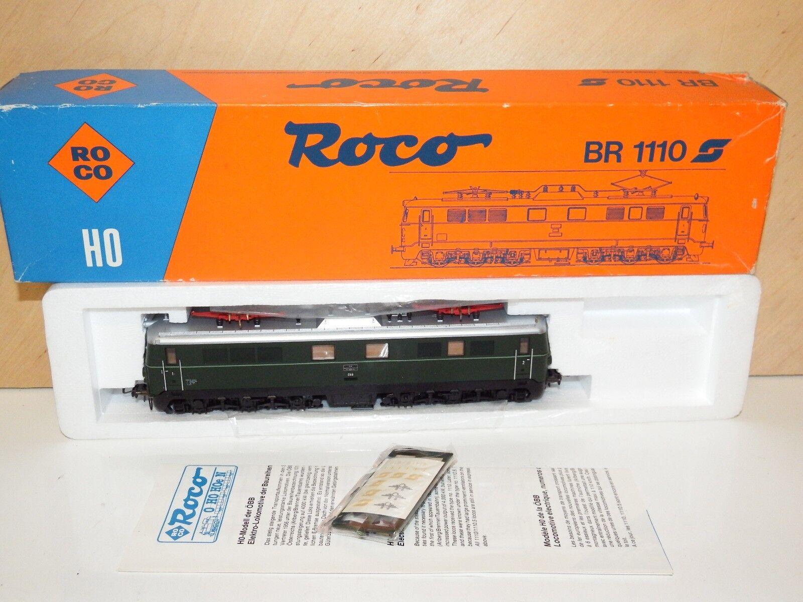 H0 Roco 04198a elekrolok ÖBB BR 1110 Original Box Mint 4037