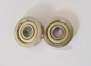 5pcs Flange Ball Bearing F6800ZZ 10*19*5 mm Metric flanged BearingNew