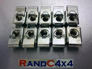 MRC2178-Land-Rover-Series-2-2a-3-Bulkhead-Captive-Door-Hinge-Screw-Nut-UNF