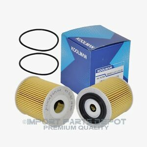 Mini Cooper Engine Oil Filter Premium 12446 2pcs Ebay