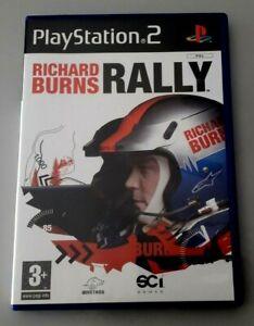 """Jeu PS2 """"Richard Burns Rally"""" complet en boîte (N°1830)"""