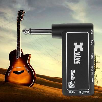 xvive ga 3 classic rock mini portable electric guitar plug headphone amplifier 742806889662 ebay. Black Bedroom Furniture Sets. Home Design Ideas
