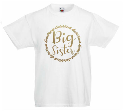Big Sister Girls T-shirtWorld/'s Best Going To Be A Big Sister Secret Promoted