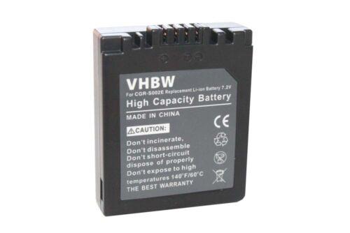 Cámara acu Batería Acu para Panasonic Lumix dmc-fz2