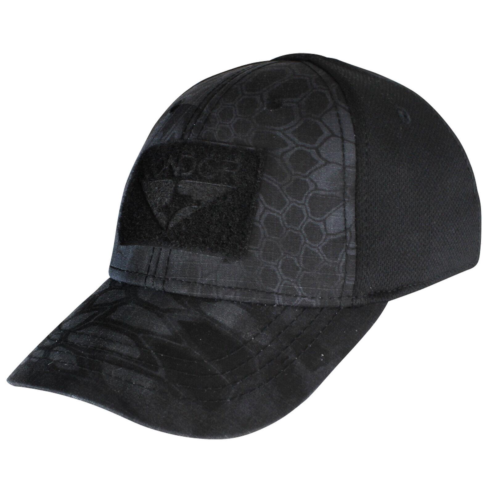 Condor Mens Outdoor Flex Tactical Cap MultiCam Black, S//M