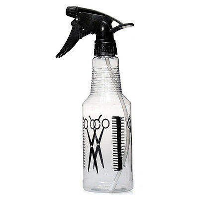 Plastic Hair Salon Tool Spray Bottle Hairdressing Flowers Plants Water Sprayer