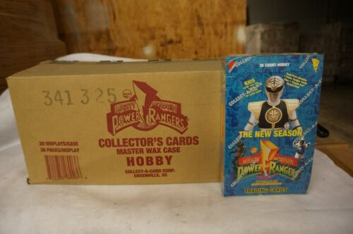 20box A Case of Mighty Morphin Power Rangers Hobby Edition New Season Unopened