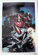Marvel Comic Iron Man #85 Limited Giclee Canvas Signed by Stan Lee AP 1/20