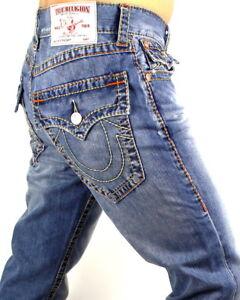 True-Religion-249-Men-039-s-Hand-Picked-Multi-Big-T-Straight-Jeans-MNR3859KB5