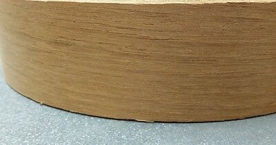 "Teak auto Wood veneer edge banding non glued  2""x100' without-glue"