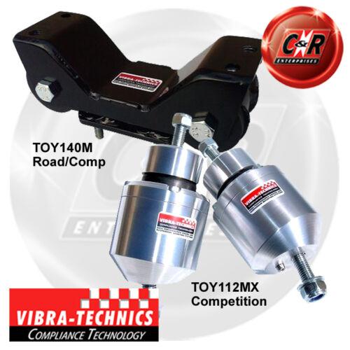 Toyota Supra 6spd Man V160 Trans 93-95 Vibra Technics Full Engine Mount Race Kit