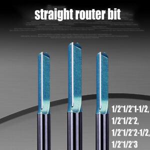 1-2-034-Schaft-Trimmen-schnitzen-Router-Bit-Hartmetall-Fraeser-Holzbearbeitung
