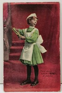 Girl-with-Castor-Oil-This-will-Keep-Jack-Going-1910-Little-Falls-KY-Postcard-F3