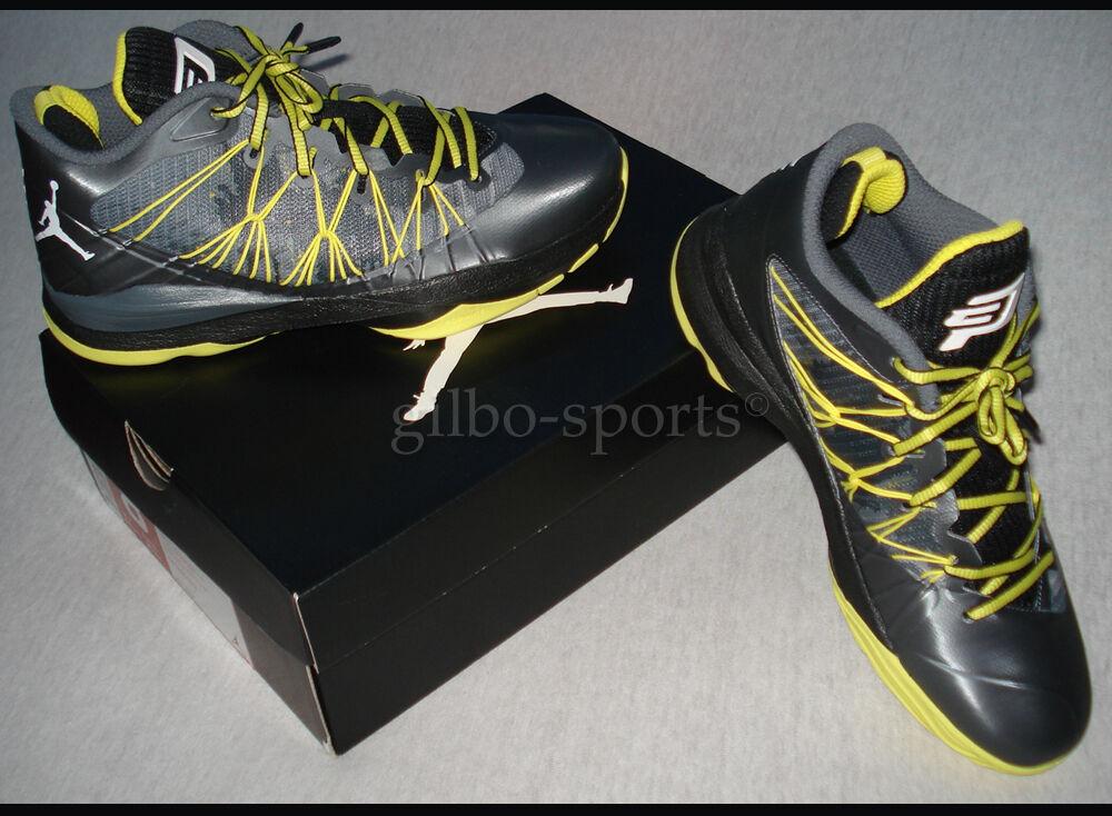 Nike Air Jordan CP3 VII AE Dark Grey Yellow Gr. 41  - Neu - 644805 070 Retro 7