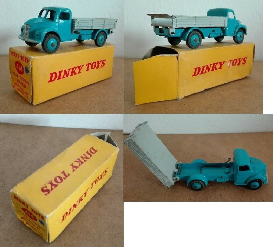 Dinky giocattoli 414 Dodge Rear tipping wagon die cast 143