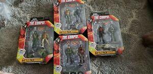Battle Pack figures /& véhicule 4 Différents Packs par Lot Le corps